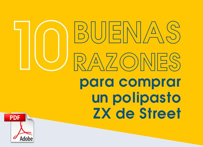 polipastos eléctricos de cadena zx de street